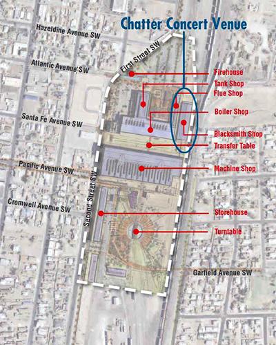 Rail Yards Site Plan
